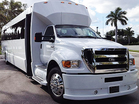 40 passenger party bus, mobile club houston