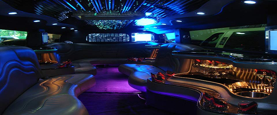 Exceptional H2 Hummer Limo Interior